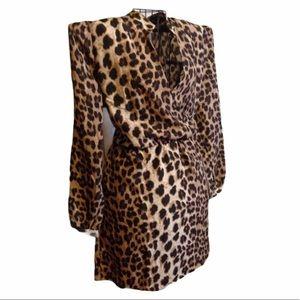 Alloy Apparel Leopard Print Dress